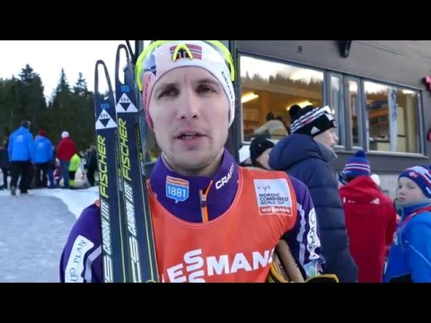 Jan Schmid - World Cup Granåsen 2016