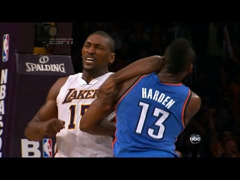 Metta World Peace Top 5 Fights