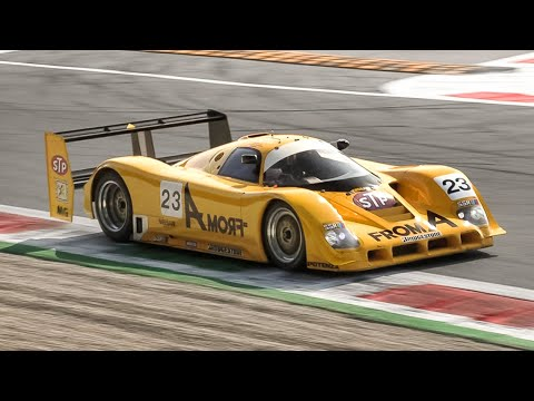 Nissan R90CK Group C In Action At Monza Circuit!