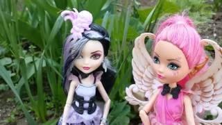 Видео с куклами Эвер Афтер Хай. Кьюпид и Дачес Свон. Обзор кукол