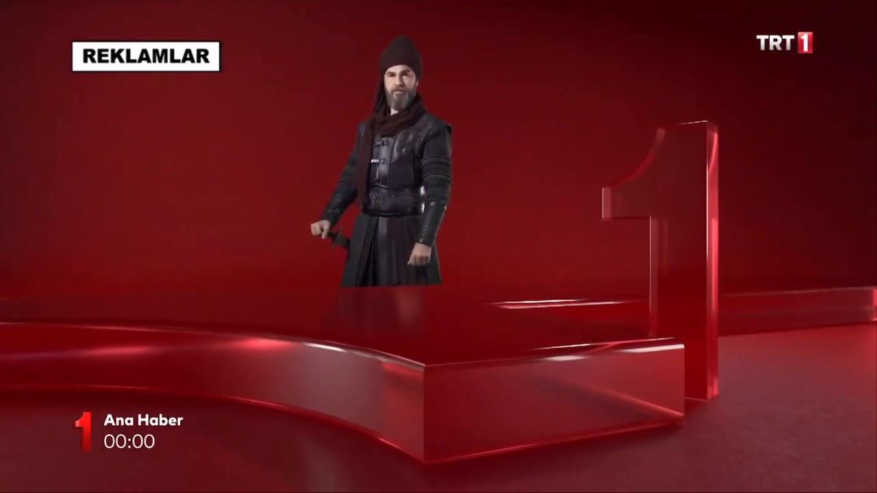 TRT 1 - Reklam ve Ana Haber Jenerik (2019)