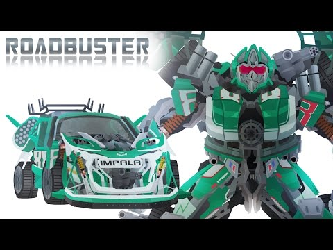 Wreckers ROADBUSTER - Short Flash Transformers Series