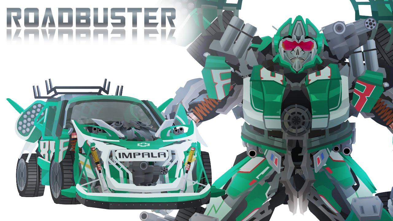Wreckers ROADBUSTER - Short Flash Transformers Series ...