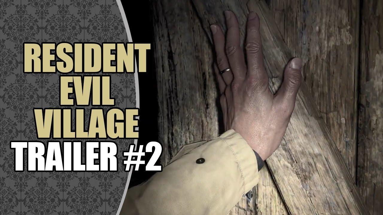 Acervo: Resident Evil Village   Trailer #2 (Legendado PT-BR)