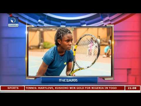 Nigeria Already Raking In Medals At ITF AJC Qualifiers Pt.2 |Sports Tonight|