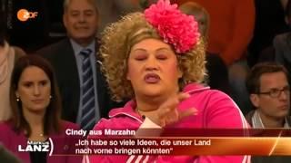 Cindy aus Marzahn bei Markus Lanz über Politiker! Ich platze gleich, weil ich mich gerade so aufrege
