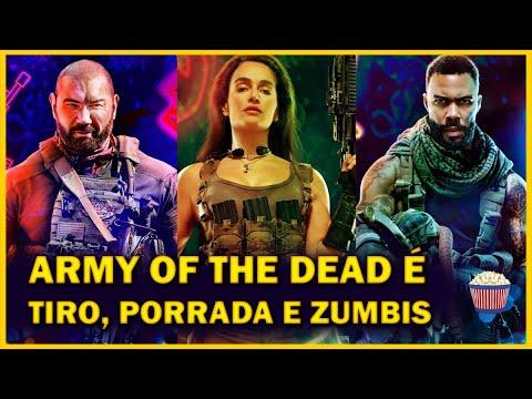 Crítica Army of The Dead - Invasão em Las Vegas - de Zack Snyder