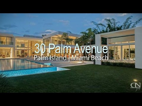 30 Palm Avenue Miami Beach 33139 Modern Waterfront House contemporary Mansion for sale