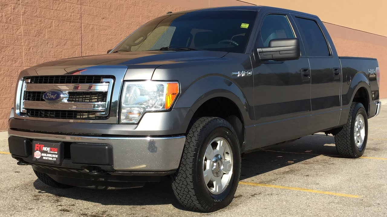 2013 ford f 150 xlt 4wd crew cab 5 0l alloy wheels youtube. Black Bedroom Furniture Sets. Home Design Ideas