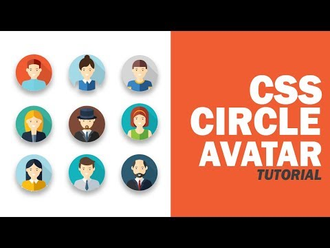 How To Make Circle Image/Div/Avatar With CSS3