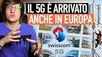 Swisscom: la prima rete 5G commerciale d'Europa!