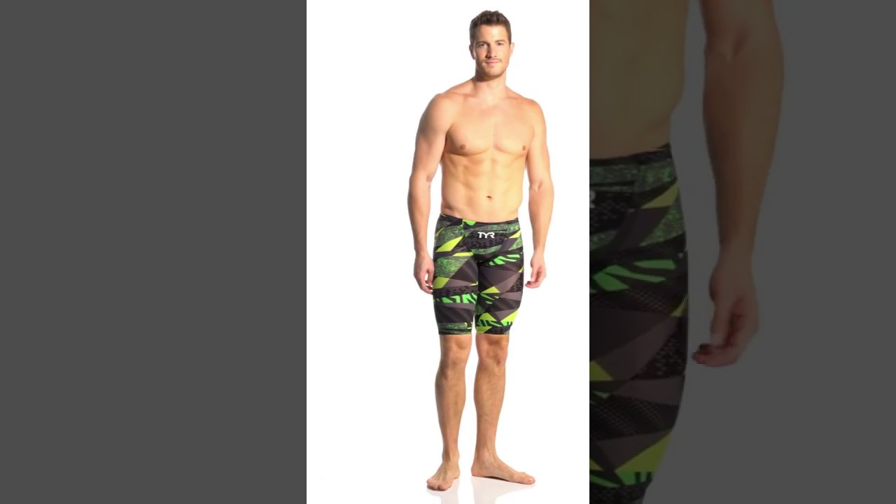 46d85161dd5 TYR Avictor Prelude Male Short Jammer Tech Suit Swimsuit | SwimOutlet.com -  YouTube