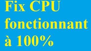 Fix CPU fonctionnant à 100% - Betdownload.com