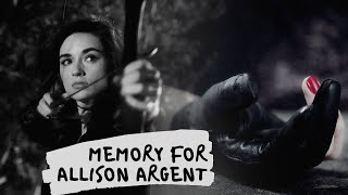 memory for allison argent
