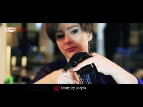 Haare schneiden Stufenschnitt - Beauty by Sheyda