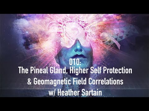 010: The Pineal Gland, Higher Self Protection & Geomagnetic Field Correlations w/ Heather Sartain