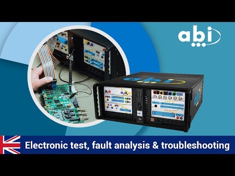 Electronic Test, Fault Analysis And Troubleshooting With ABI's BoardMaster #Repairdontwaste
