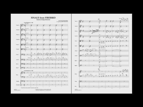 Finale from Firebird by Igor Stravinsky/arr. Jamin Hoffman