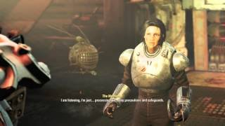 Fallout 4 Automatron - Restoring Order: The Mechanist Revealed to Be Isabel Cruz Dialogue Sequence