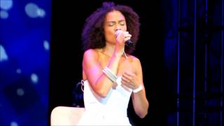 "Amel Larrieux: ""No One Else"" - Damrosch Park New York, NY 7/30/14"