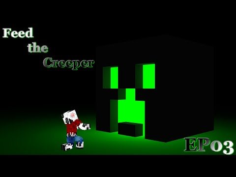 "Feed the Creeper SMP S3EP03 ""Jet Packs and Ships"""