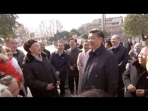 President Xi: I am the civil servant of the people