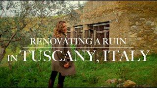 BUILDING A DREAM ITALIAN FARMHOUSE (Renovating a Ruin Part 1)