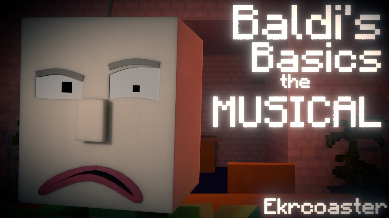 Baldi S Basics The Musical Minecraft Animation Song By Random