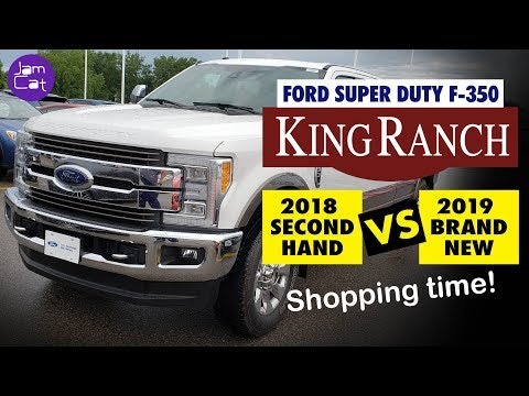 2019 Super Duty Ford F-350 King Ranch