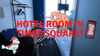Smallest Hotel Room in Times Square? - Pod Hotel - NYC Hotel Tour