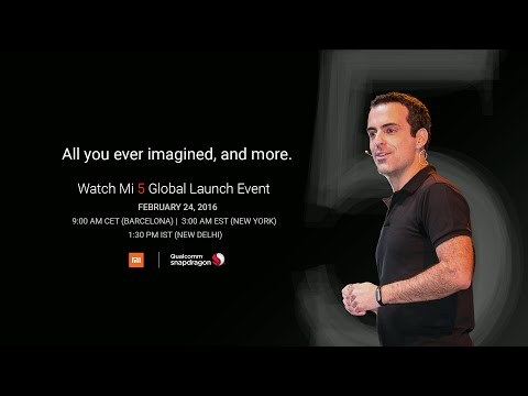 2016 Mi 5 Global Launch at MWC Barcelona