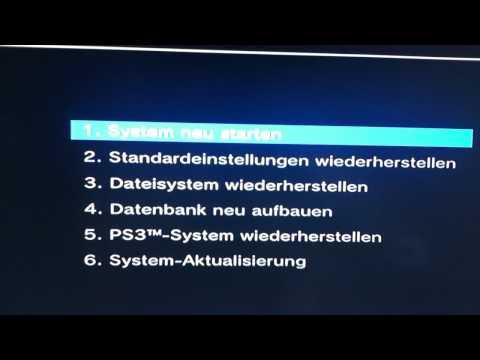Anleitung: Playstation 3 defekt – PS3 reparieren – Recovery Modus aufrufen – PS3 reparieren Video