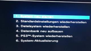 Anleitung: Playstation 3 defekt - PS3 reparieren - Recovery Modus aufrufen - PS3 reparieren Video