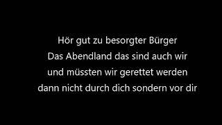 Saltatio Mortis - Besorgter Bürger (Lyrics)