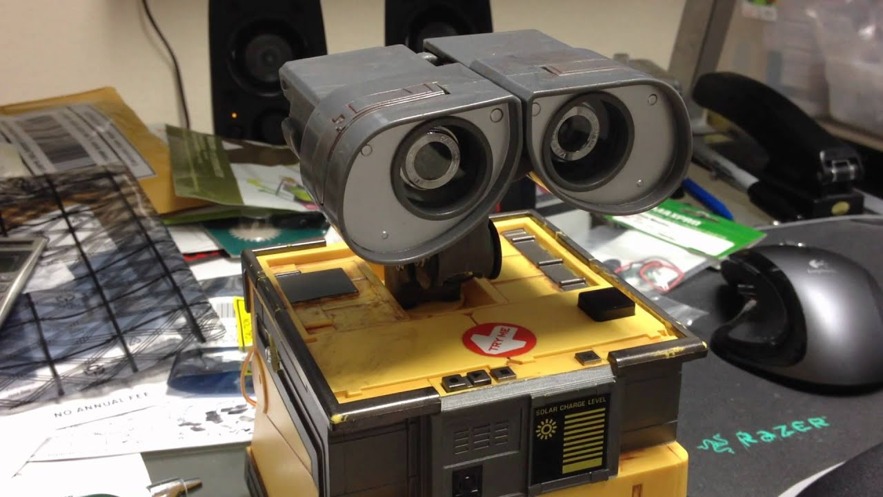 Free Printable House Blueprints The Real Wall E Project Head Movement Test 1 Youtube