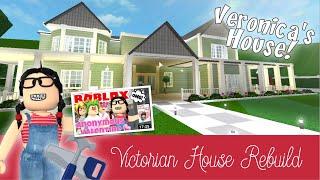 Roblox Bloxburg | Wiederaufbau des Grand Victorian/Veronica es House
