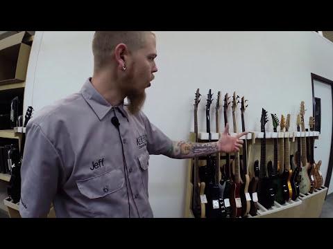 KIESEL/CARVIN GUITARS Factory Tour | GEAR GODS