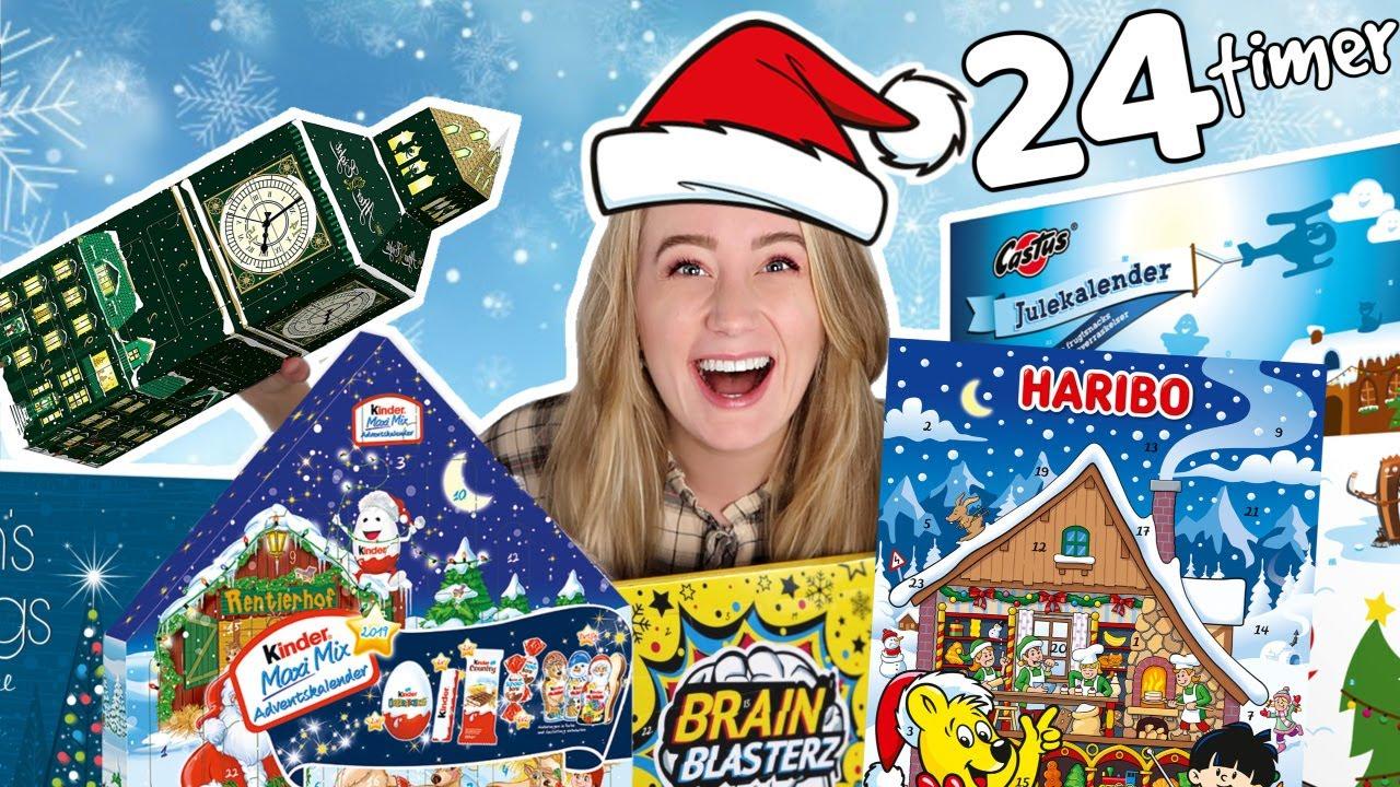 Må Kun Spise Julekalendere I 24 Timer Challenge Youtube
