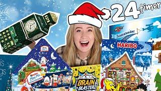 Må Kun Spise Julekalendere I 24 Timer Challenge!