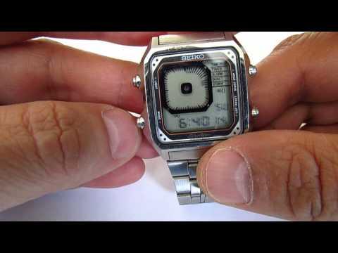 Seiko G757 5030 James Bond Digital Watch