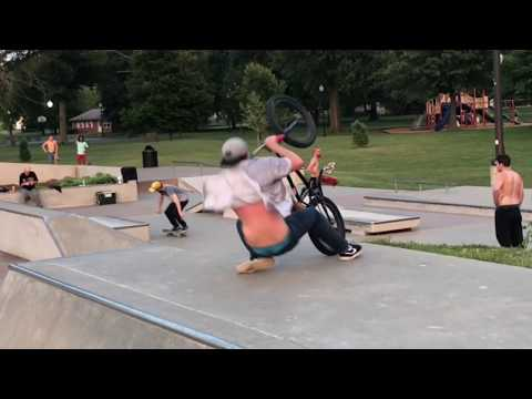Owensboro ky bmx trip #7 * I destroyed my ankle!!*