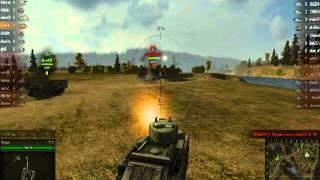 Урок World Of Tanks Средний танк [Drejven]