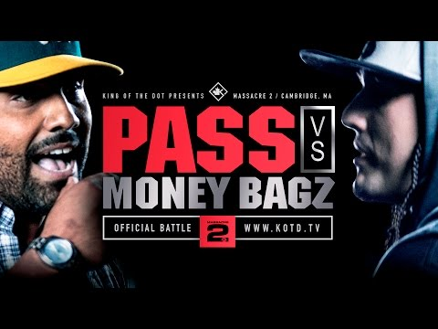 KOTD - Rap Battle - Pass vs Money Bagz | #MASS2