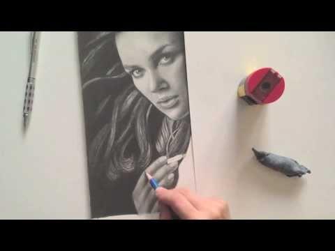 Elizabeth Swann (speed-drawing)