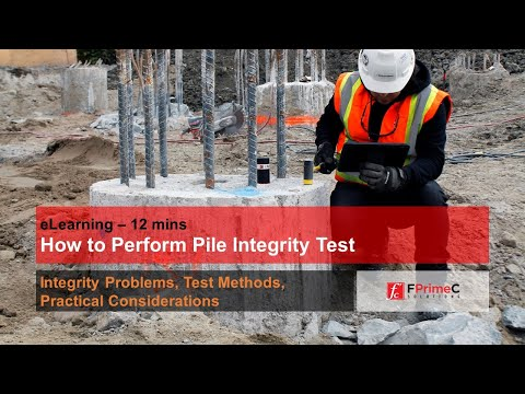 How To Perform Pile Integrity Testing?