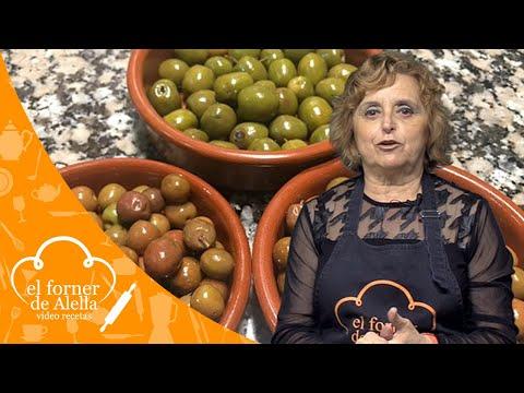 Como preparar aceitunas