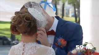 Свадьба года в красно синих тонах
