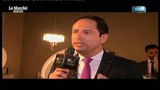 لقاء #أحمد_سالم مع د.خالد محرز من داخل معرض #لو_مارشيه