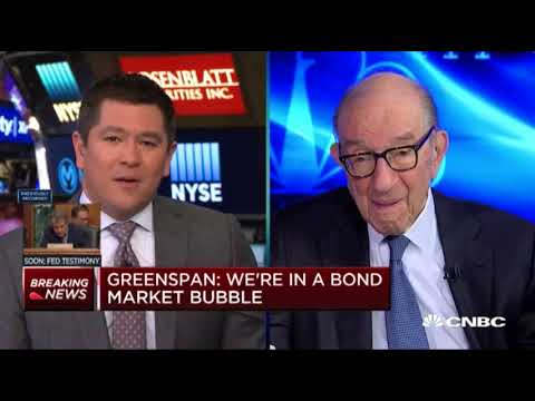 Alan Greenspan: Scary Productivity Outlook, Stagflation, Bond Bubble, Market Crash