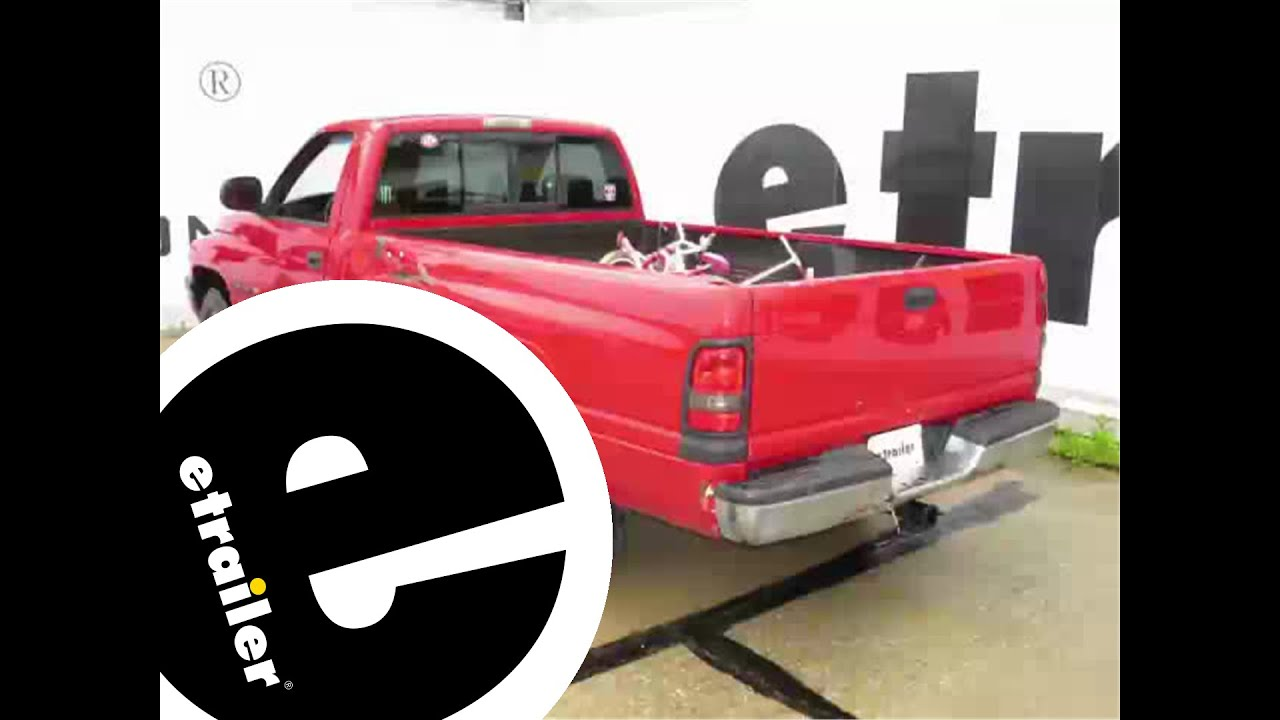 Etrailer Trailer Wiring Harness Installation 2001 Dodge Ram Pickup Youtube